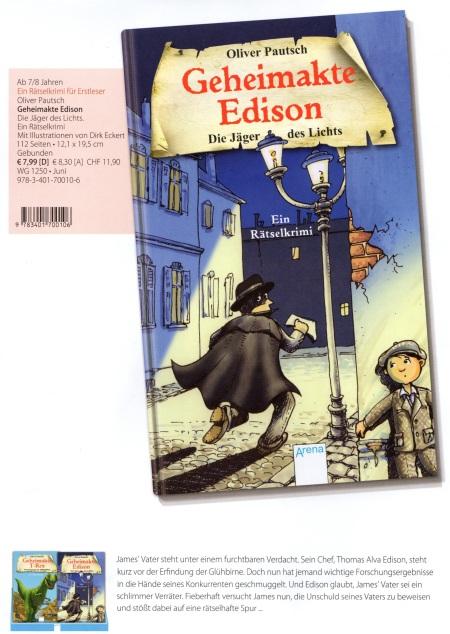 Arena Kat Geheimakte Edison