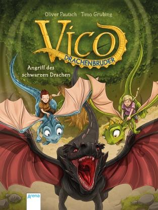 Vico Drachenbruder (2) GROSS. Angriff des schwarzen Drachen
